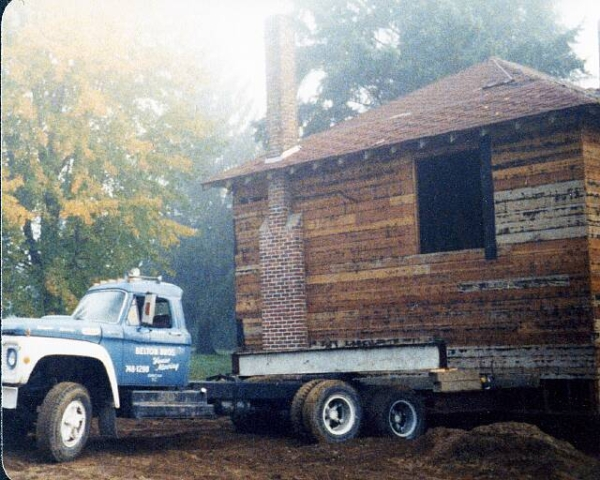Old house move Vancouver Island bc