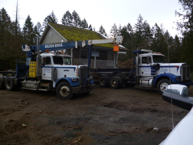 Moving house  via Belton Bros Mill Bay BC