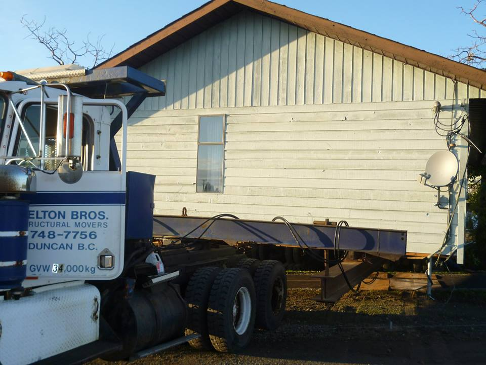 Structural home movers Colwood BC