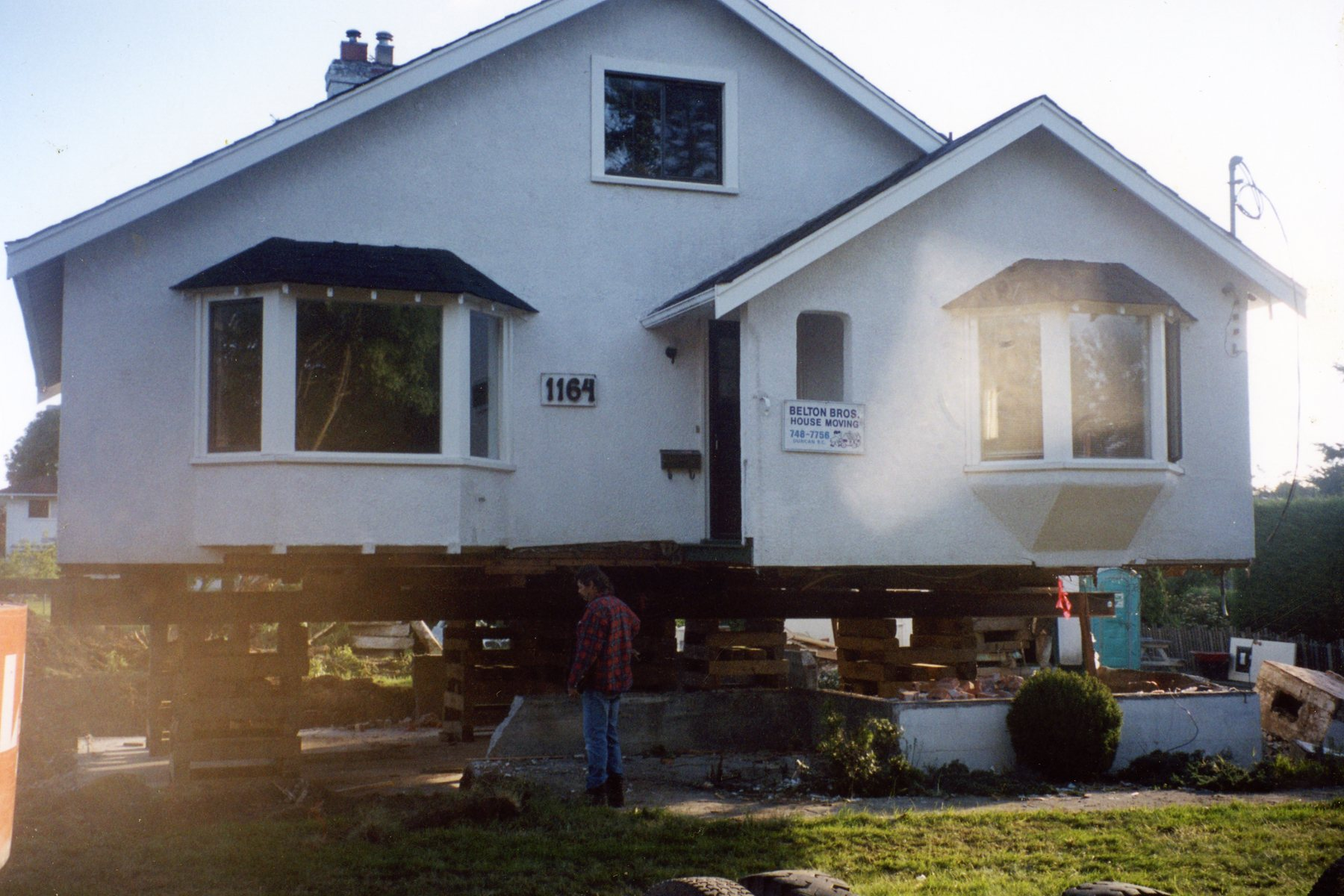 Belton bros  House moving Chemainus BC
